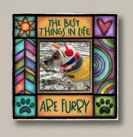 Small Magnetic Picture Frame - 'Furry'