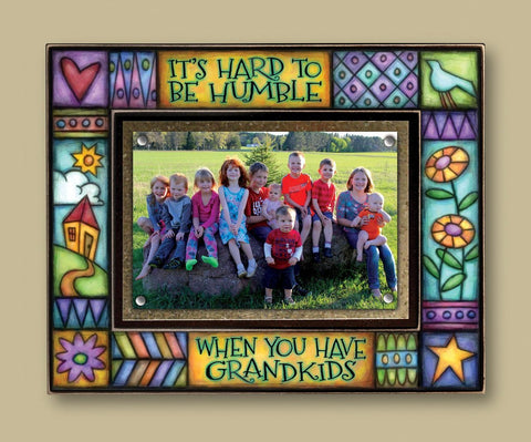 Magnetic Picture Frame - 'Grandkids'