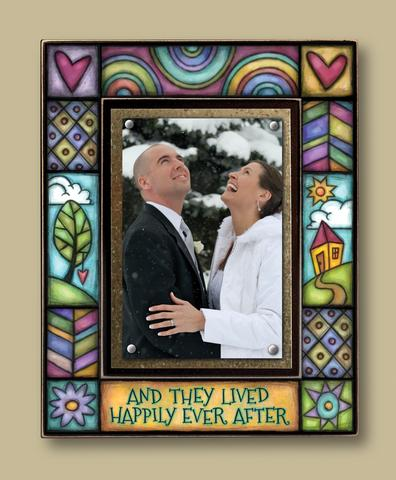 Magnetic Picture Frame - 'Happily Ever After'
