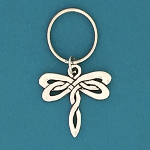 Keychain - Celtic Dragonfly