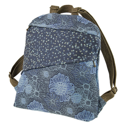 Lady Bird Backpack in Blooming Blue