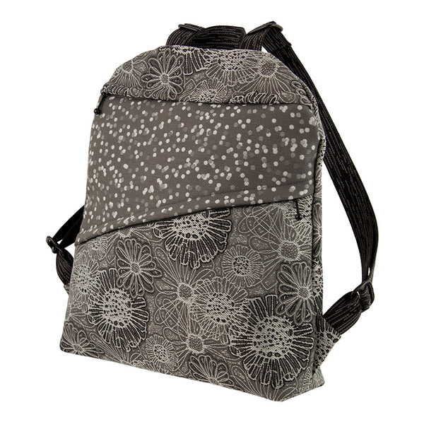 Lady Bird Backpack in Blooming Grey
