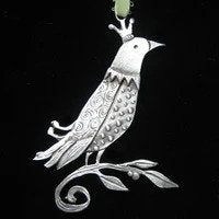 Pewter Ornament - Morning Dove