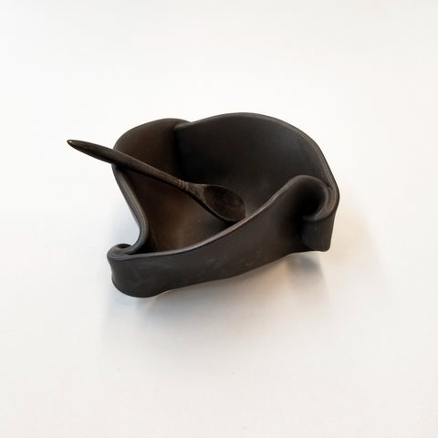 Mustard Pot- Ebony