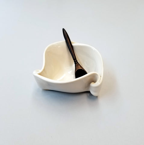 Mustard Pot- Simply White