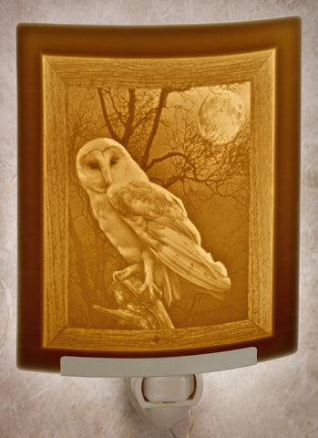 Porcelain Night Light - Owl