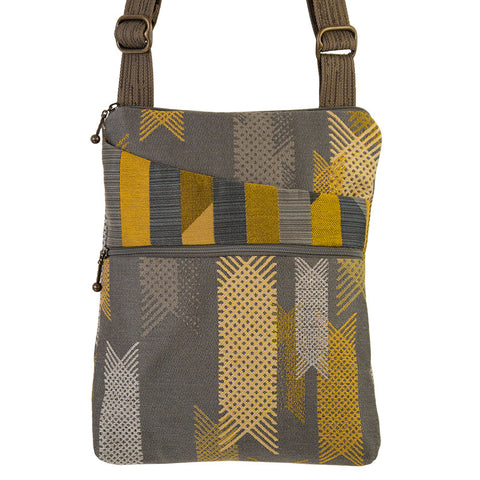 Pocket Bag in Lattice Grey