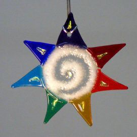 Rainbow Energy Star Ornament