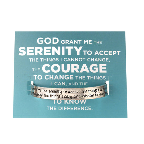 Quotable Cuff: Serenity Prayer