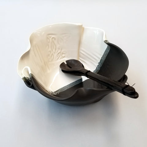 Serving Bowl - Black & White