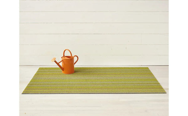 Indoor/Outdoor Skinny Stripe Rug - Citron
