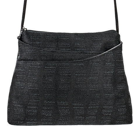 Sparrow Bag in Contours Black