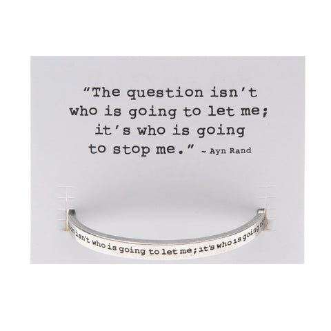 Quotable Cuff: The question ...
