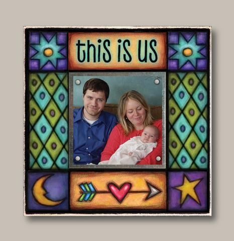 Small Magnetic Picture Frame - 'This Is Us'