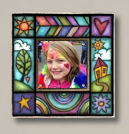 Small Magnetic Picture Frame - 'Treehouse'