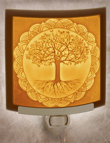 Porcelain Night Light - Tree of Life