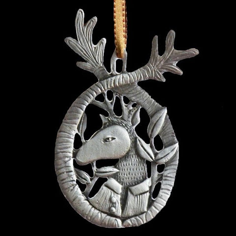 Pewter Ornament - Uncle Buck