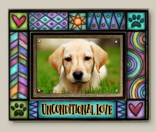 Magnetic Picture Frame - 'Unconditional Love'