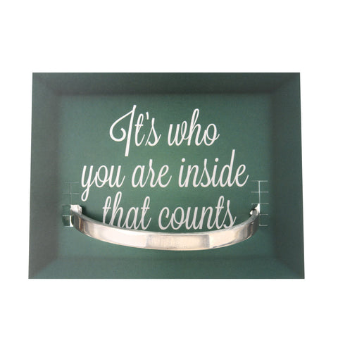 Quotable Cuff: It's who you are ...