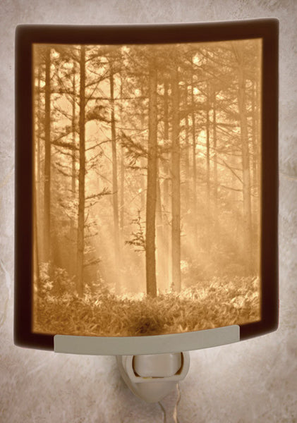 Porcelain Night Light - Woodland Sunbeams