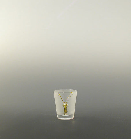 Zipper Shot Glass