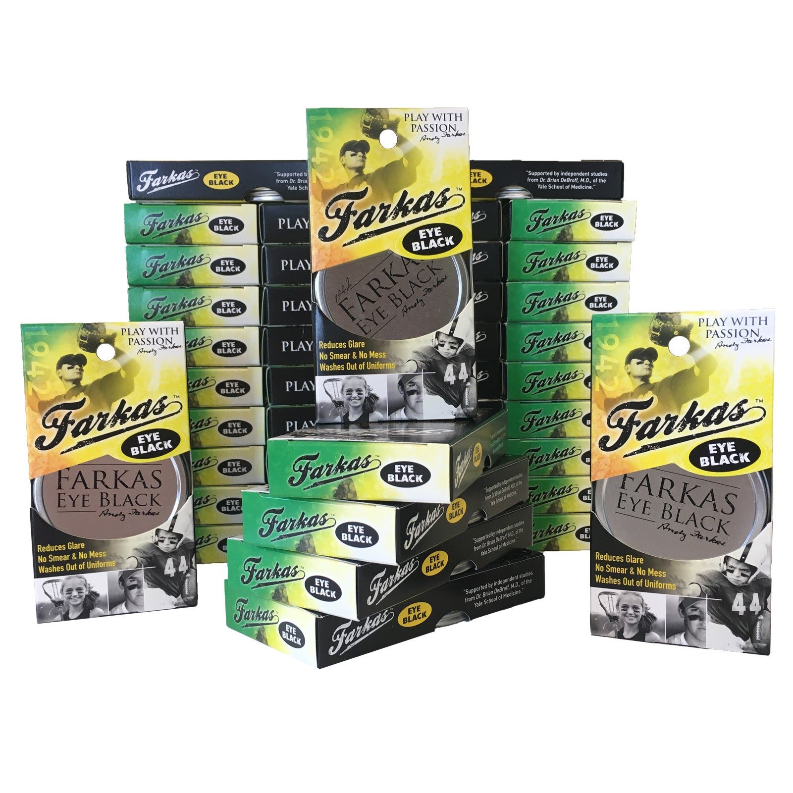 Farkas Eye Black- 3 box (36 tins)