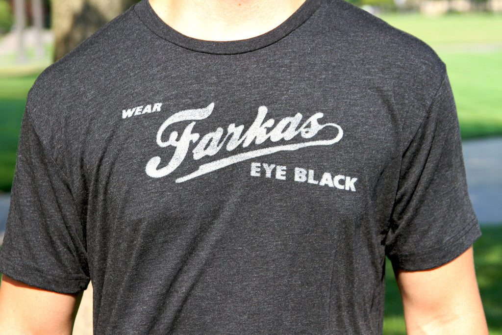 Farkas Eye Black Tee Shirt - Tri-Black