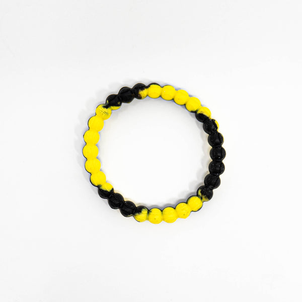 Baseball Power Bracelet Black/Yellow