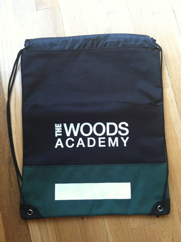 Woods Academy cinch bag