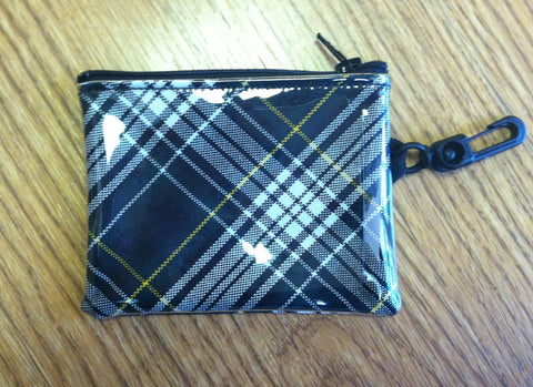 Woods Plaid girls change wallet