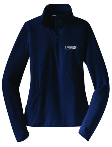 The Woods Academy Ladies Pullover Jacket (New)