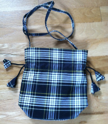 Woods Plaid girls purse