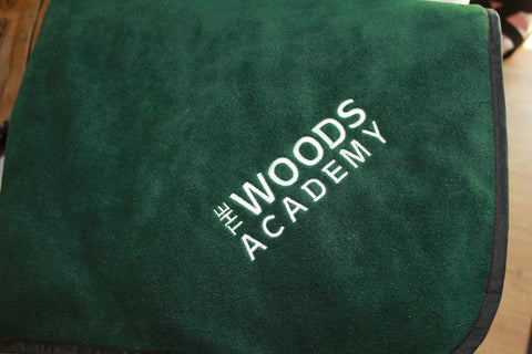 Woods Academy lawn blanket
