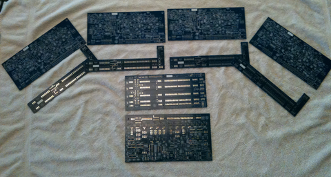 crOwBX bare four voice board set - August 2017