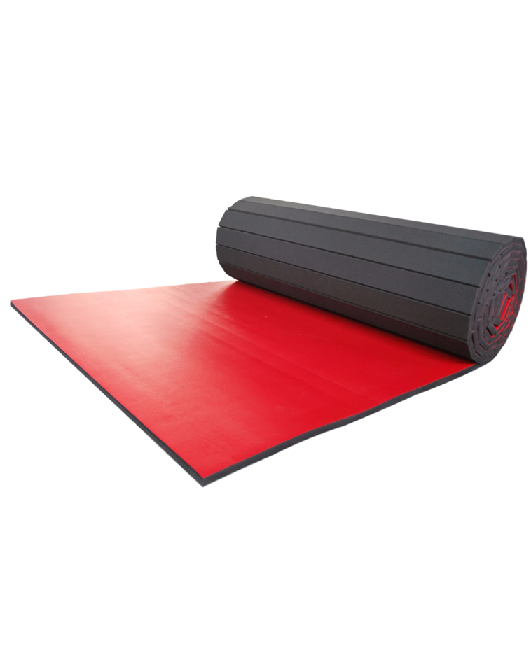 Red Vinyl Bonded Foam for Martial Arts and Fitness