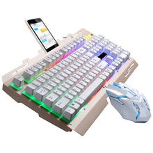 Load image into Gallery viewer, VOBERRY G700 LED Mechanical Keyboard/Mouse