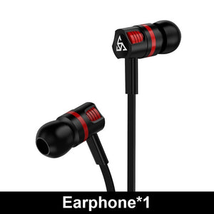 Durable Sports Earbuds w/ Integrated Mic