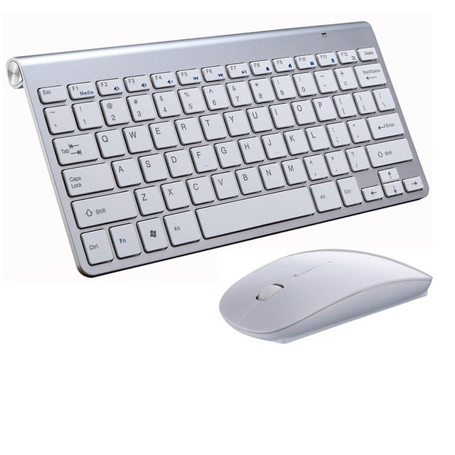 Wireless Mini Keyboard and Mouse