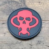 CHAVES SKULL LOGO PATCH