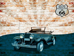 American Hot Rod cross stitch chart