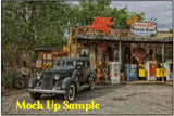 Arizona Route 66 Cross stitch chart