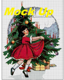 Vintage Christmas Cross Stitch Chart
