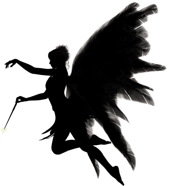Angel Silhouette cross stitch chart
