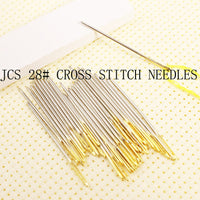 Cross stitch needles, embroidery needles 28# 26# 24# 22# 18CT 16CT 14CT 11CT 9CT  BO