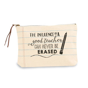 TEACHER PRINT CANVAS CASE