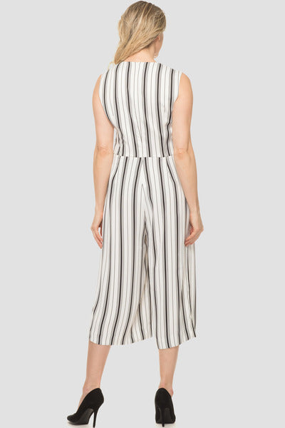 Joseph Ribkoff Striped Jumpsuit