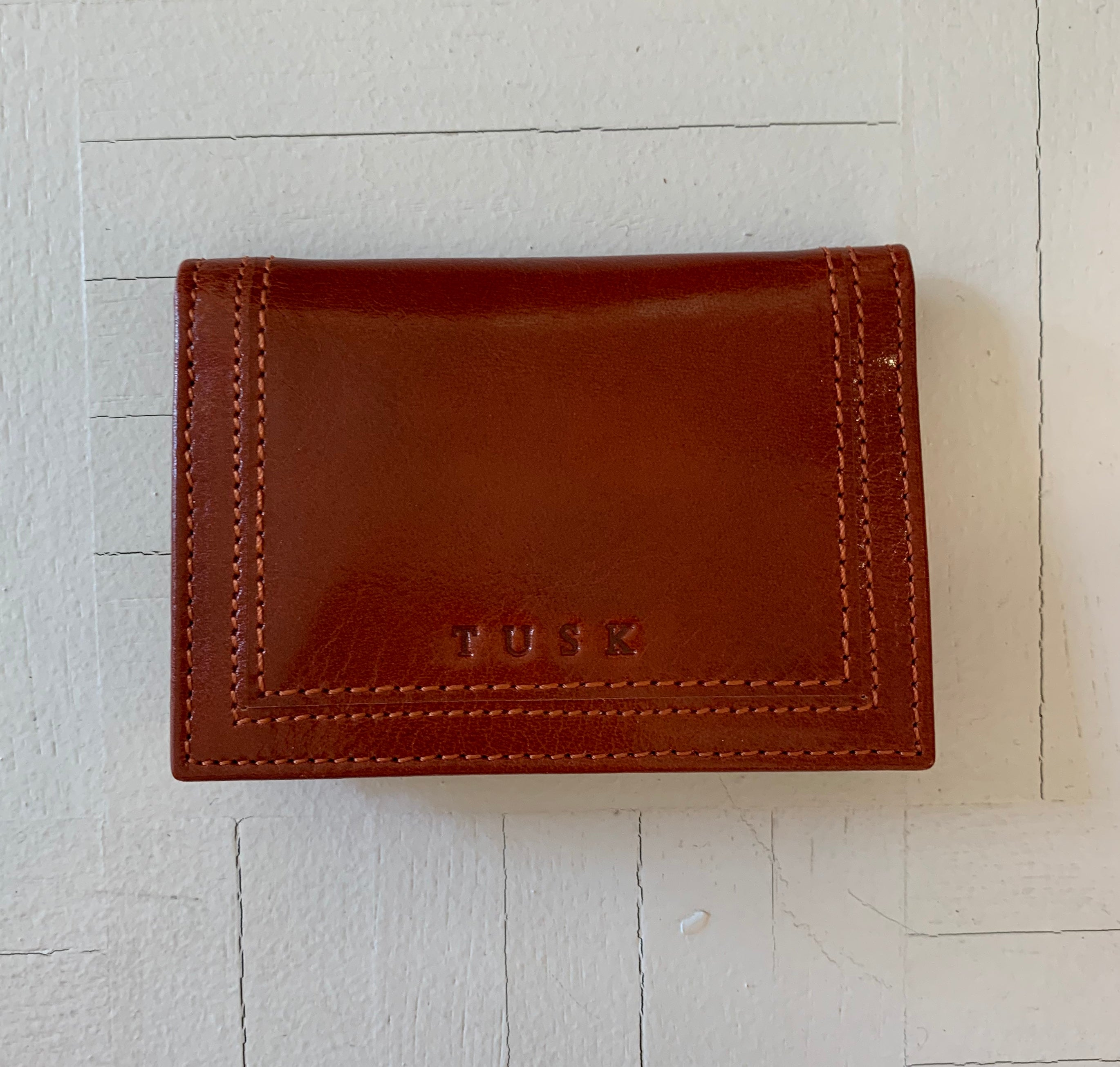 Tusk Gusseted Wallet