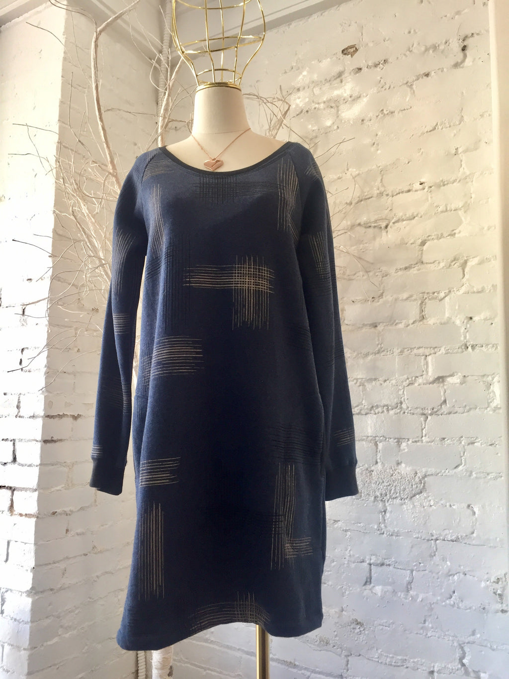TONL C1308F SWEATSHIRT DRESS