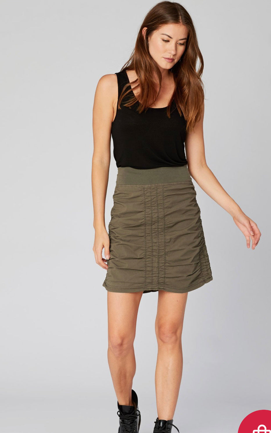 WEAR THE TRACE SKIRT
