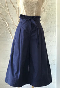 MINU COTTON NAVY PANT